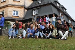 ドイツ語クラスの集合写真