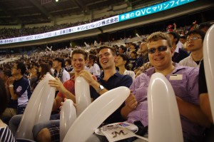 QVCマリンフィールドにて「千葉ロッテ・マリーンズ対埼玉西武ライオンズ」の観戦