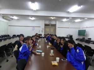 参加した女子学生たち