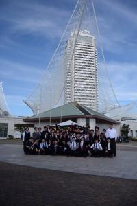 神戸海洋博物館にて