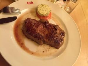 私が食べたビーフステーキ