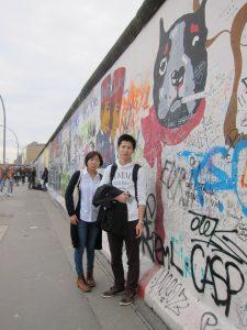 ベルリンの壁跡地(イーストサイドギャラリー)