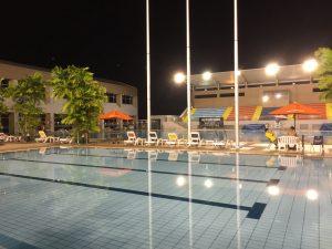 学校のプール施設