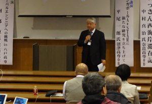 前野木更津高専校長の歓迎挨拶