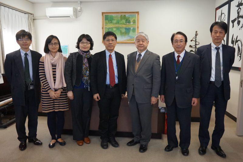 台湾国立聯合大学校長が来訪 | ...