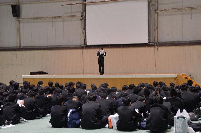 新入生歓迎会の写真