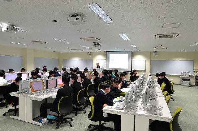 2017年 電子制御工学科 情報セキュリティ教育の写真